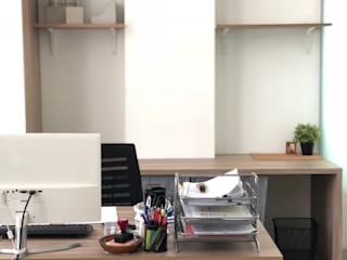 Oficinas de estilo  por TIES Design & Build, Minimalista