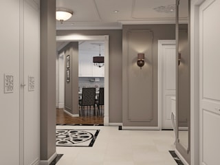 Corridor & hallway by Wide Design Group, Classic