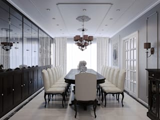 Dining room by Wide Design Group, Classic