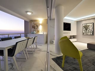 Penthouse The President Bantry Bay:  Balcony by KMMA architects