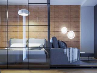 Дизайн-проект студии 37 м.кв. от 2ACH Лофт