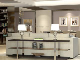 Decordesign Interiores Dining roomAccessories & decoration Chipboard Metallic/Silver