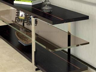 Decordesign Interiores SalasAccesorios y decoración Aglomerado Metálico/Plateado