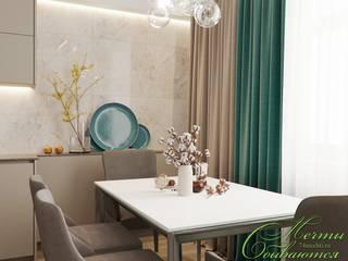 Salon minimaliste par Компания архитекторов Латышевых 'Мечты сбываются' Minimaliste