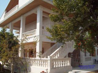 Doğal Taş Villa Ve Korkuluk Yapımı Taşcenter Acarlıoğlu Doğal Taş Dekorasyon Modern Taş