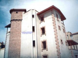 Kayseri Taşı Villa Yapımı Taşcenter Acarlıoğlu Doğal Taş Dekorasyon Modern Taş