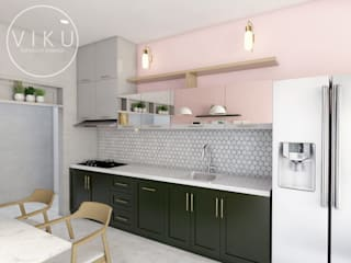viku Kitchen Pink