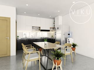 viku Minimalist kitchen