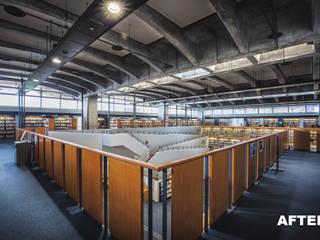 十日町図書館内部撮影 の シーダフォト
