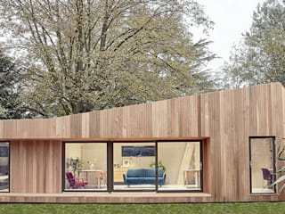 Ecospace Italia srl Prefabricated Home Wood Wood effect