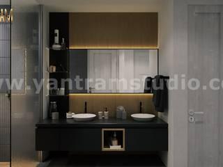 Badezimmer von Yantram Architectural Design Studio