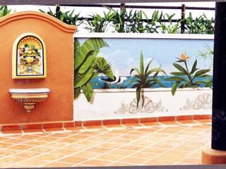Klassischer Balkon, Veranda & Terrasse von Pintura decorativa de interiores Irmapenna Klassisch