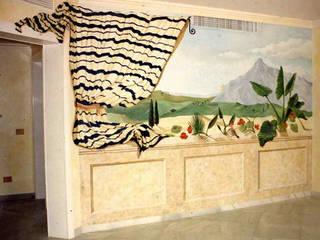 Pintura decorativa de interiores Irmapenna Living room Stone