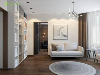 ЕвроДом Salas de estilo minimalista