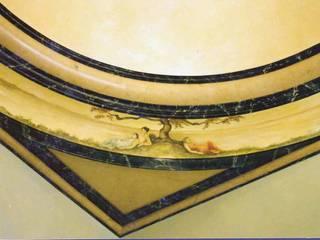 Pintura decorativa de interiores Irmapenna Classic style bedroom Stone
