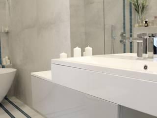 Phòng tắm phong cách hiện đại bởi archJudyta Aranżacja Wnętrz Hiện đại