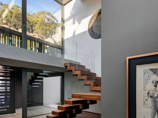 HOUSE SEALION | FRESNAYE Wright Architects Stairs Wood Brown