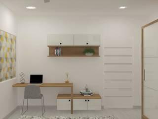 Kokapet Eclectic style bedroom by Elite Space Eclectic