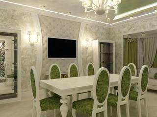 Дизайн проект столовой зоны от ООО 'ХоумЛэнд' Классический МДФ
