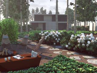 Ogród leśny od Zieleń i Przestrzeń