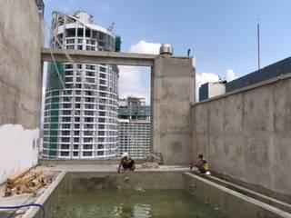 seapoolvn 庭院泳池 玻璃 Green