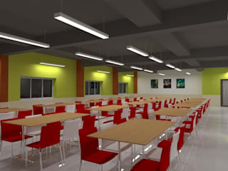 Amcor Pharma:  Commercial Spaces by AD Square Projects India Pvt Ltd,