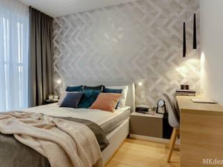 Nowoczesne mieszkanie w Wilanowie od MKdezere projektowanie wnętrz Nowoczesny