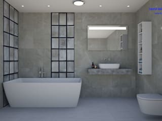 Minimalist style bathroom by 'Design studio S-8' Minimalist