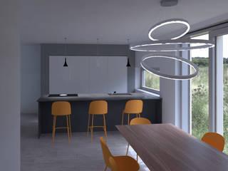 Cucina e Living a Ravenna Cucina moderna di G&S INTERIOR DESIGN Moderno