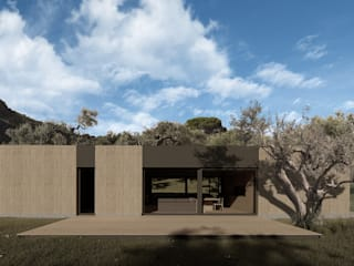 WOODEN HOUSE G|C – SICILY by ALESSIO LO BELLO ARCHITETTO a Palermo Country