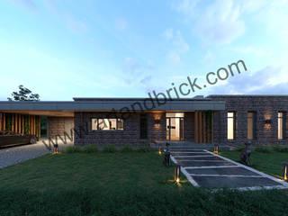by Архитектурное бюро Art&Brick Scandinavian