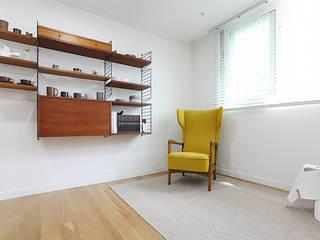 분당 장안건영 32py아파트: 트리플디자인의  서재 & 사무실