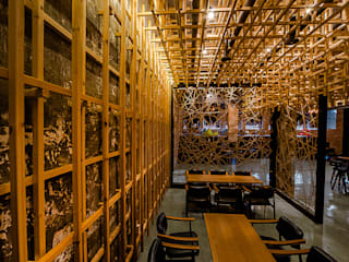 카페테리어 '마당': 내츄럴디자인컴퍼니의  바 & 카페
