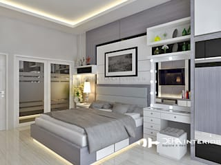 Project Thomin Shu Kamar Tidur Modern Oleh deha interior pekanbaru Modern
