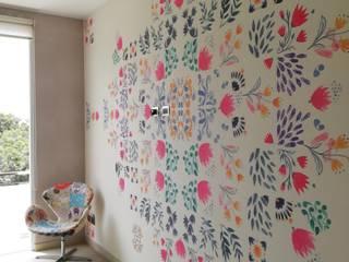 Decoración Dormitorio Casa MQ:  de estilo  por Alicia Ibáñez Interior Design