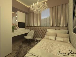 Kamar Tidur oleh Arquiteta Joana Monteiro, Modern