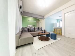 CHEN House ‧舊屋翻新:   by 元作空間設計
