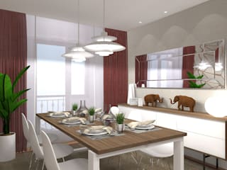 Salle à manger moderne par PLAN B INTERIORISMO Moderne