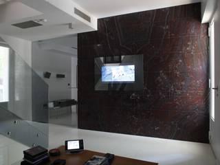 ミニマルデザインの リビング の Domonova Soluciones Tecnológicas para tu vivienda en Madrid ミニマル