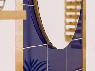 CARMITA DESIGN diseño de interiores en Madrid Коммерческие помещения Плитка Синий