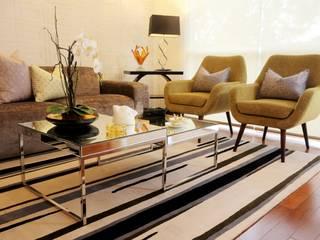 Salas de estilo moderno de Mario Ramos Moderno