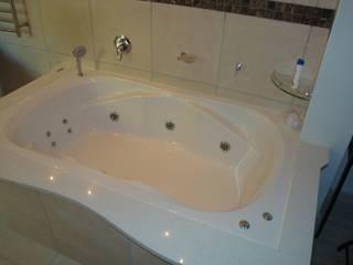 Platekloof Glen Vishay Interiors Modern bathroom