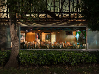 Guria Polanco Gastronomía de estilo moderno de Onno Arquitectos Moderno