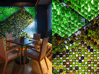 Guria Polanco: Restaurantes de estilo  por Onno Arquitectos,