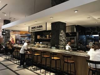 Tapas Guria - Perisur: Restaurantes de estilo  por Onno Arquitectos,