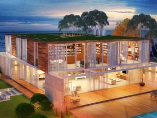 Moderne Häuser von Viviane Cunha Arquitectura Modern