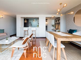 Dining room by noc-noc, Modern
