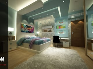 (GUYS BEDROOM (BOYS&GIRLS: حديث  تنفيذ AKYAN, حداثي