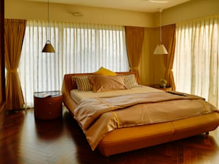 Residential Interior Project:  Small bedroom by Obaku Design