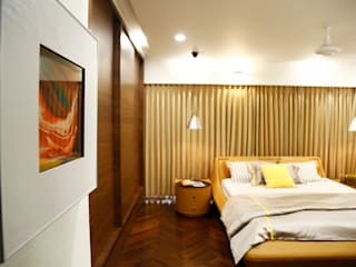Residential Interior Project:  Bedroom by Obaku Design